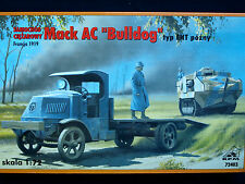 "Mack ac ""bulldog"" type ise, late version wwi camion, rpm, échelle 1/72"