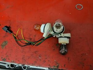 2004-2006 Saab 9-3 Convertible ONLY, Left/Right Taillight Bulb Sockets Assembly