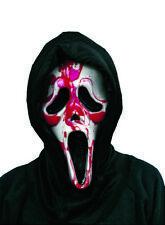 Maschera ghost sanguinante scream con sangue e pompetta manuale