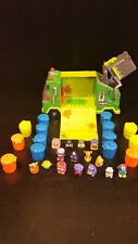 Trash Pack 15 Trashies, 1 Garbage Truck, And 14 Trash Cans Lot Moose Toys -- A