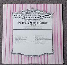 ENRICO CARUSO AND HIS COMPEERS VOLUM VI SEALED RECORD ALBUM