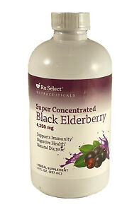 Rx Select® Super Concentrated Black Elderberry Supplement 4250mg Immunity 11/22