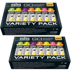 Science in Sport SiS Go Isotonic Energy Gel Variety 2 x Pks of  x 60ml