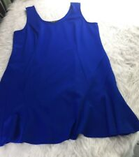 Cable & Gauge Womens Dress Plus Size 3X Woman Royal Blue Sleeveless (2)