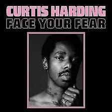"Curtis Harding ""face your fear"" coloured 180g Vinyl LP + MP3 NEU Album 2017"