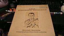 rare record LP Lalo Symphonie Espagnole Henryk Szeryng Living Stereo LSC-2456