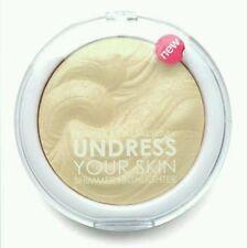 MUA Makeup Academy undress YOUR SKIN Highlighter polvere 7.5g NUOVO Iridescente Oro