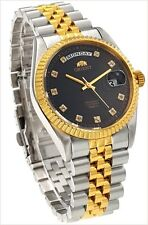 """New Orient """"Oyster"""" Automatic Sapphire Classic Watch CEV0J002B"""