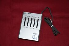 Sony Seq-50 Walkman EQ Stereo Graphic Equalizer 1980 For Sony WM-D6C