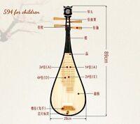 lute Liuqin - Chinese Soprano Pipa Lute Guitar Dunhuang Musical Instrument #3731