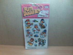 Letraset Transfers – Fun Doodles – The Wombles unused in original packet 1974
