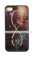 ANKIT Phone Case BLACK+GALAXY+LOVE Sturdy Protective HARD SHELL For iPHONE 4/4S