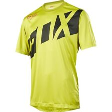 Fox Ranger Short Sleeve Jersey Mountain Bike Dark Yellow 2017 Large ba390e3b7