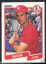 Fleer 1990 Baseball Card - No 265 - Todd Zeile - St Louis Cardinals