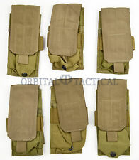 6 New Eagle Industries Molle Single Mag Pouch SFLCS Khaki