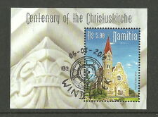 Namibie - 100 Jahre Église du Christ - Bloc 73 timbrés 2010 Mi. 1355