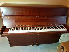Feurich Klavier Sehr guter Zustand -schöner klang Farbe mahagoni