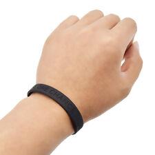 Armband one life one chance Aufschrift Schwarz Anti Rassismus Sport Wristband