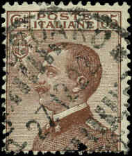 Italy Scott #110 Used
