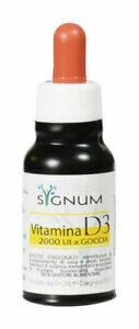 SYGNUM Vitamina D3 2000 UI a goccia soluzione 50 ml