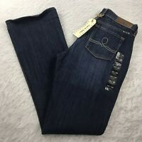 New Lucky Brand Sofia Boot Cut Jeans Women's 10/30 Long  Dark Wash Mid-Rise