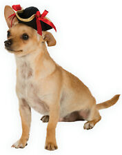 Pirate Buccaneer Girl Pet Dog Cat Accessory Tri-Corn Hat-M-L
