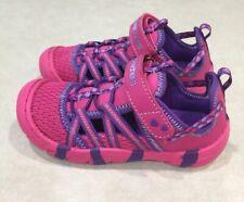 "SKECHERS ""Summer Steps"" Toddler Girl's Hot Pink/Purple Summer Sandals~~Size 10"