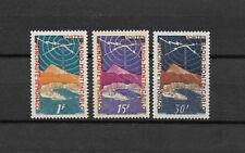 MONACO - 1951 YT 376 à 378 - TIMBRES NEUFS* légère trace de charnière - 07