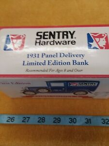 first edition 1931 Ford Model A Panel Delivery Bank Sentry Hardware Excl. Cond.