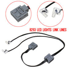 Technic Power Functions 8870 LED Lights Link Lines Cable For Lego Train Vehicle