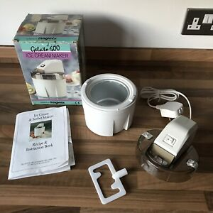 Magimix Gelato 600 Ice Cream Maker with Box Tested Working Vintage