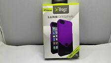 iFrogz Luxe Original Hard Shell Case for Apple iPhone 5 5S 5 SE purple/Black