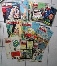 "TINTIN - année complète fascicules belges 1958 - début ""tintin au Tibet"" - BE"