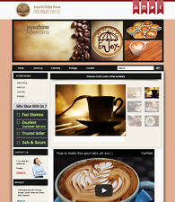 Ebay Store Design Template with Dynamic Gallery