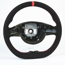 Flat Bottom Steering Wheel Suede For Mercedes Benz C-Class W205 C205