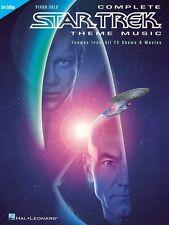 Complete Star Trek Theme Music 3rd Edition Sheet Music Piano Solo Pian 000313030