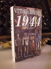Vittoria Ronchey 1944   prima edizione autografato