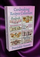 Card-making Recipes Collection - over 200 images and recipes on DVD