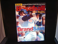 Sammy Sosa Baseball Beckett November 1999