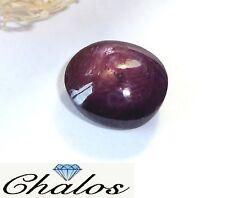 Star rubin/Ruby-Óvalo cabochon 8,9x10,4mm (1811a)