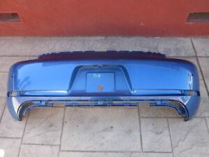 2017-2019 PORSCHE 718 CAYMAN/BOXSTER Rear Bumper Cover OEM Blue, 982898352EG2X