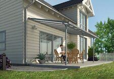 Pergola /  Verandah / Carport DIY KIT 3X5.46 Grey/Clear