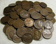 2 ROLLS OF 1918 D DENVER LINCOLN WHEAT CENTS FROM PENNY COLLECTION