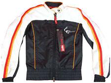 Aprilia sport racing unisex Jacke Motorradkleidung Größe XS, S, M schwarz NEU