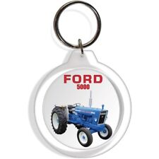 FORD GARDEN FARM INDUSTRIAL TRACTOR KEYCHAIN KEY CHAIN RING 5000 EQUIPMENT PART