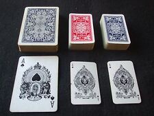 2 x Vintage Leather Cased Goodall Playing Cards 1 x Patience Twin 1 x Wide Size