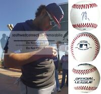 Jonathan Ornelas Texas Rangers Autograph Signed Baseball Exact Proof Photo COA