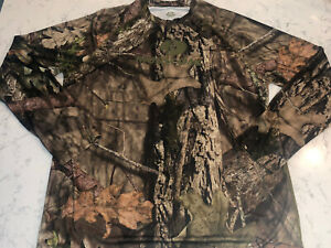 MOSSY OAK BREAK UP COUNTRY Performance Hunting Mens Shirt  L