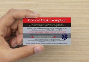 10 exemption cards free shipping