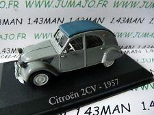 RBA19M voiture 1/43 RBA Italie IXO : CITRO�‹N 2CV 1957